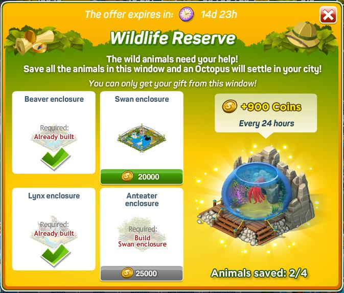 New Wildlife Reserve