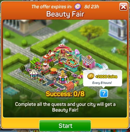 Beauty Fair Quests