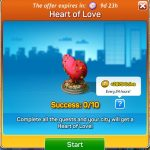 Heart of Love Quests