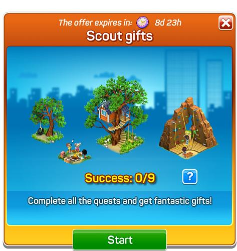 Scout gifts