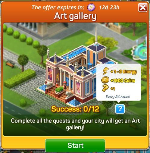 Art Gallery Quests