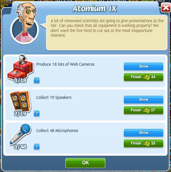 Atomium IX