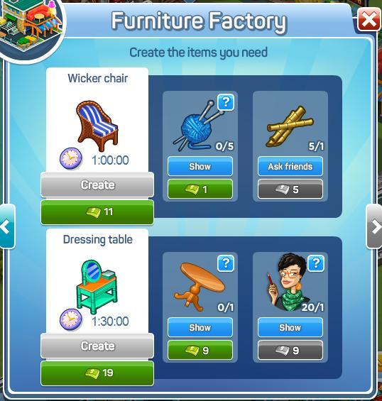 Furniture Factory Menu2
