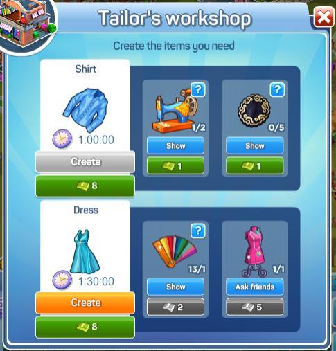 Tailors_Workshop_Menu