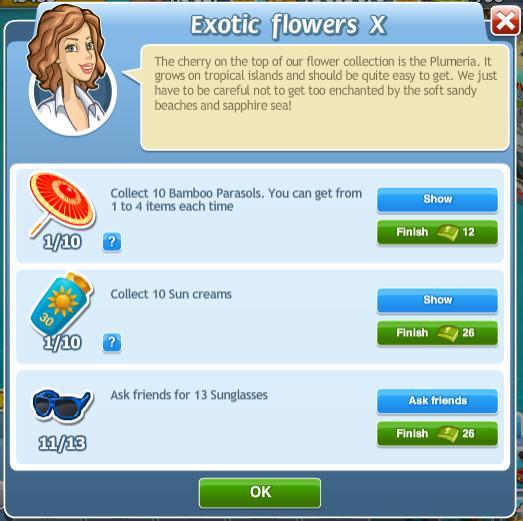Exotic flowers X