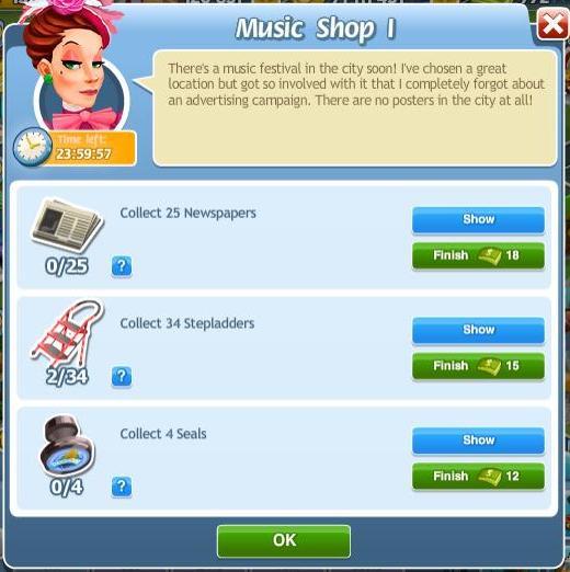 Music Shop I