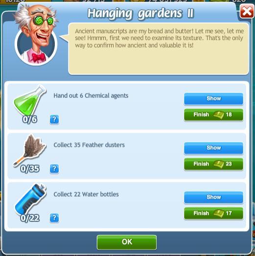Hanging Gardens II