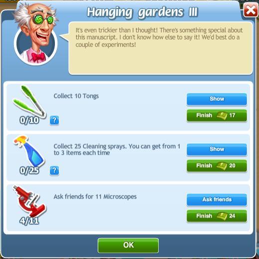 Hanging Gardens III
