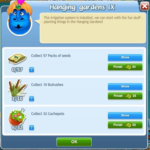 Hanging Gardens IX