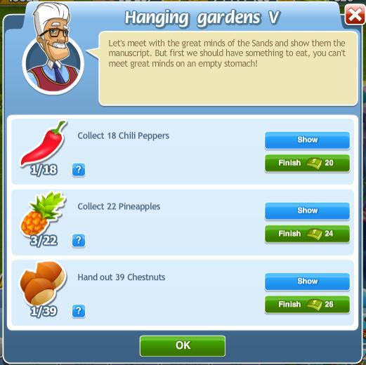 Hanging Gardens V