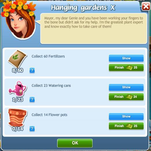 Hanging Gardens X