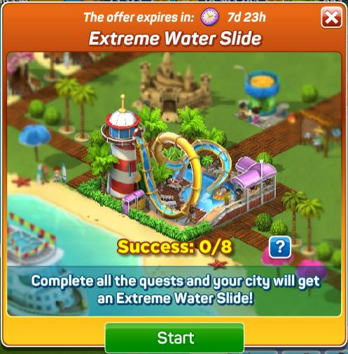Extreme Water Slide Quests