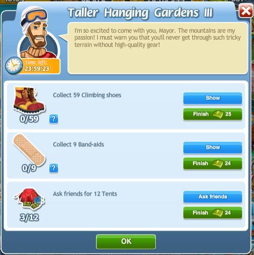Taller Hanging Gardens III
