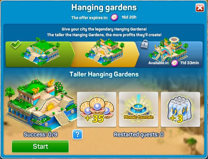 Taller Hanging Gardens