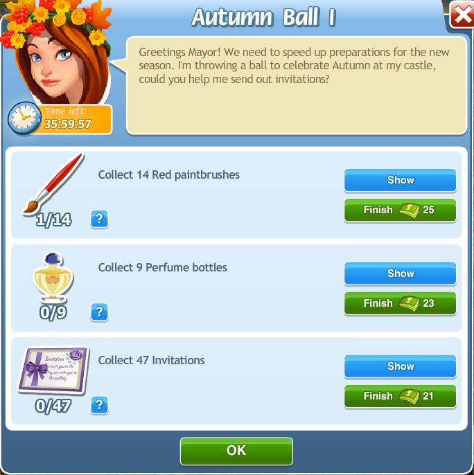 Autumn Ball I