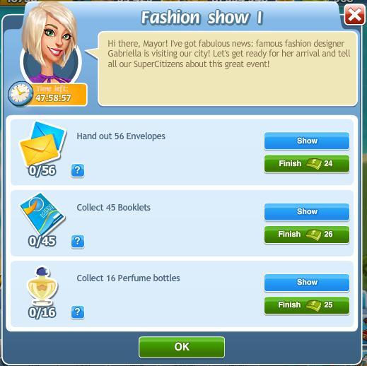 Fashion show I