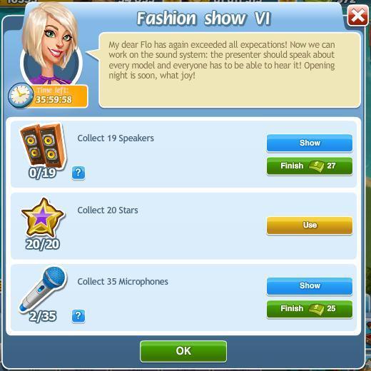 Fashion show VI
