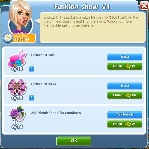 Fashion show VII