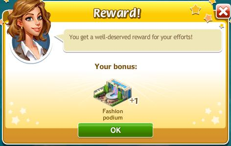 Reward Fashion Podium