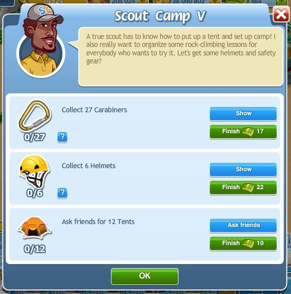Scout Camp V