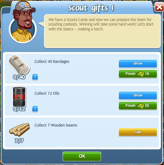 Scout gifts I