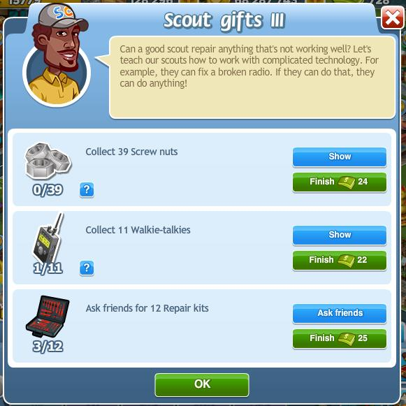 Scout gifts III