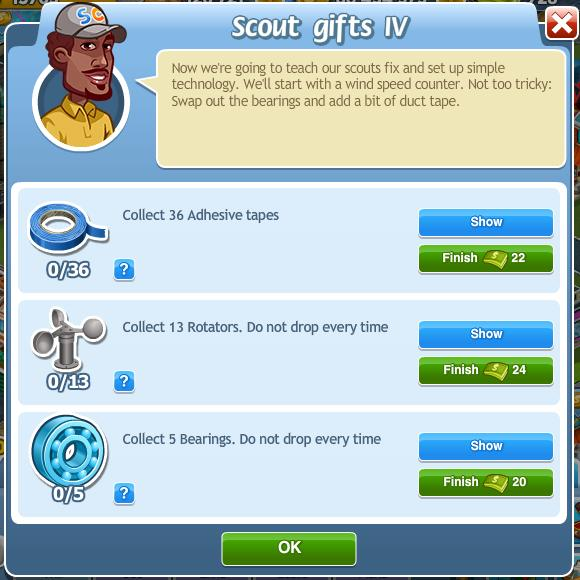 Scout gifts IV