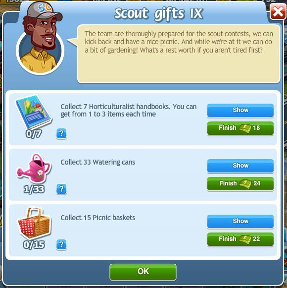 Scout gifts IX