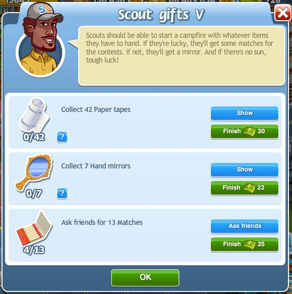 Scout gifts V