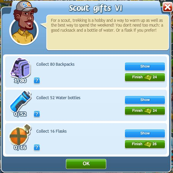 Scout gifts VI