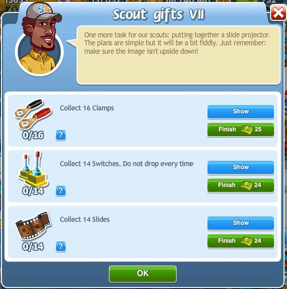 Scout gifts VII