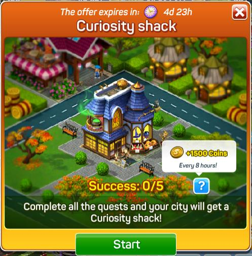 Curiosity Shack Quests