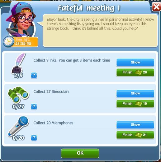 Fateful Meeting I