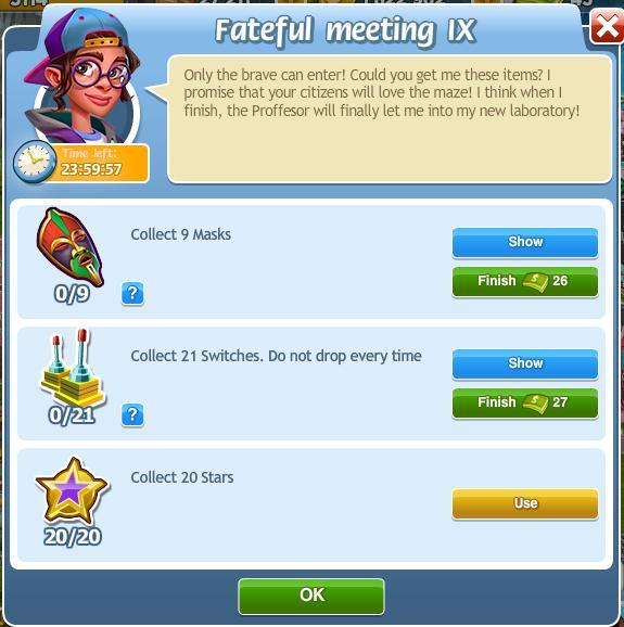 Fateful Meeting IX