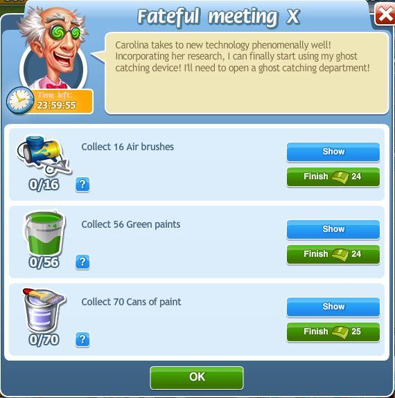 Fateful Meeting X