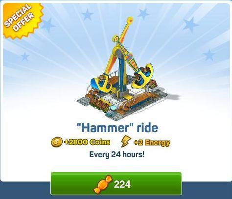Hammer-ride