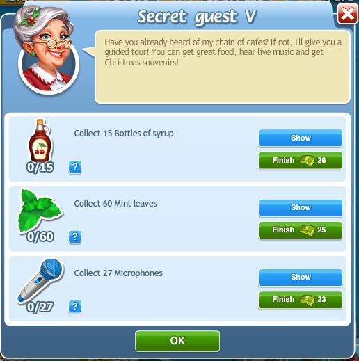 Secret guest V