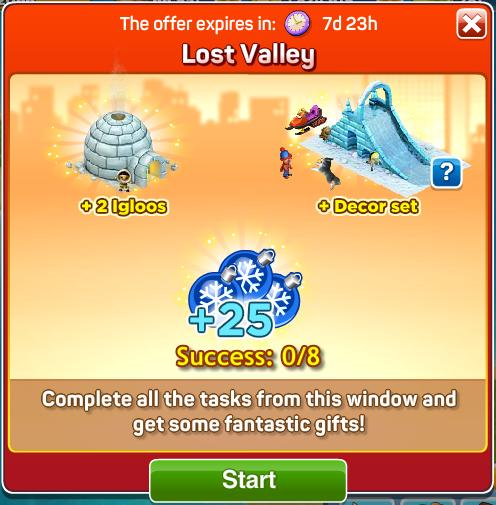 Lost Valley Rewards