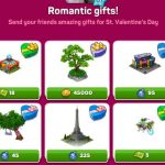 Romantic gifts set 1