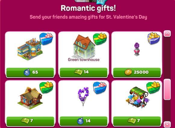 Romantic gifts set 3