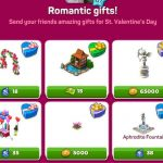 Romantic gifts set 4