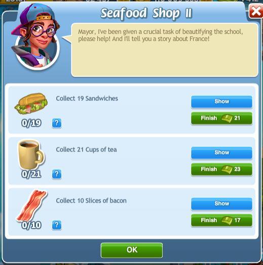 Seafood Shop II