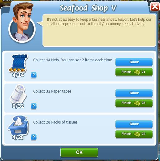 Seafood Shop V