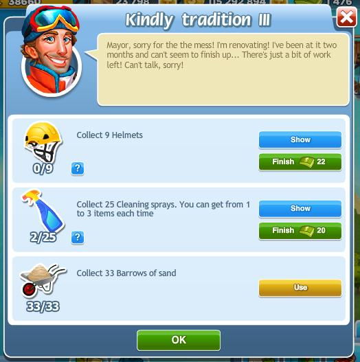 Kindly tradition III