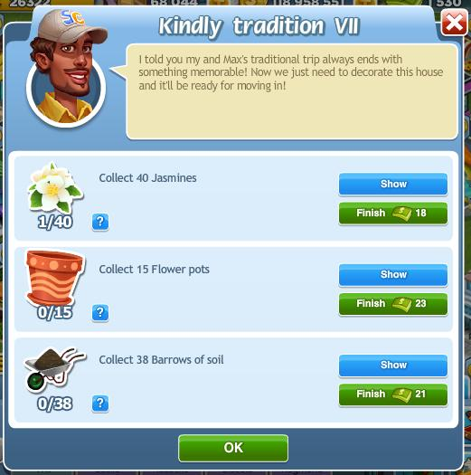 Kindly tradition VII