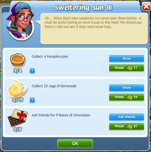Sweltering sun III