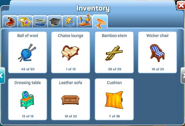 Furniture Factory Inventory 2