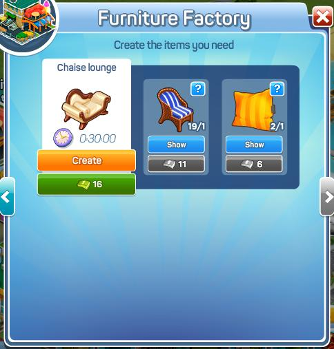 Furniture Factory Menu3