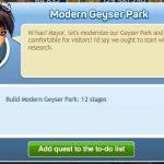 Modern Geyser Park 0