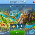 Modern Geyser Park Upgrade